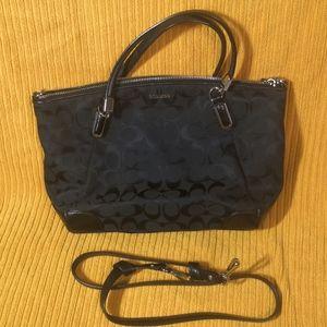 Coach handbag (w/ detachable shoulder strap)